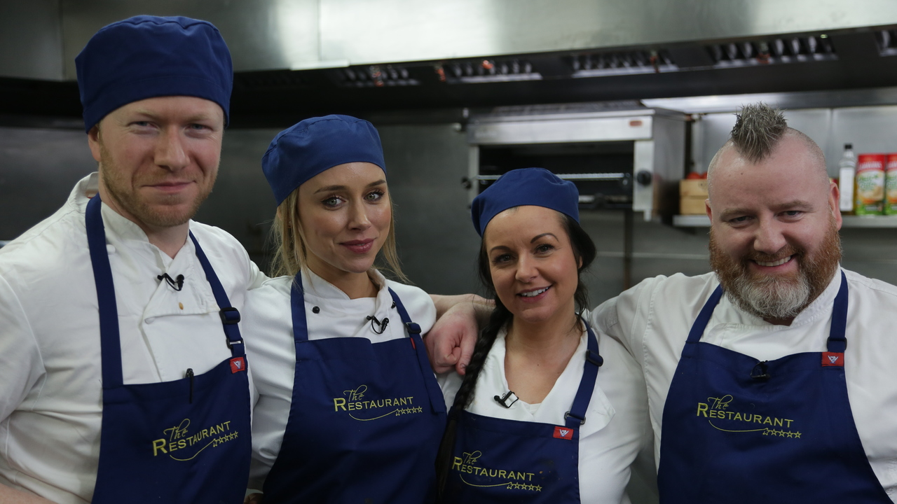 Six celebrities revealed for brand new series of The Restaurant