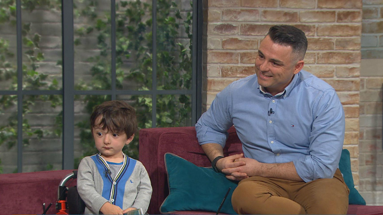 The five-year-old Cork boy who has become the hero of his father's new book