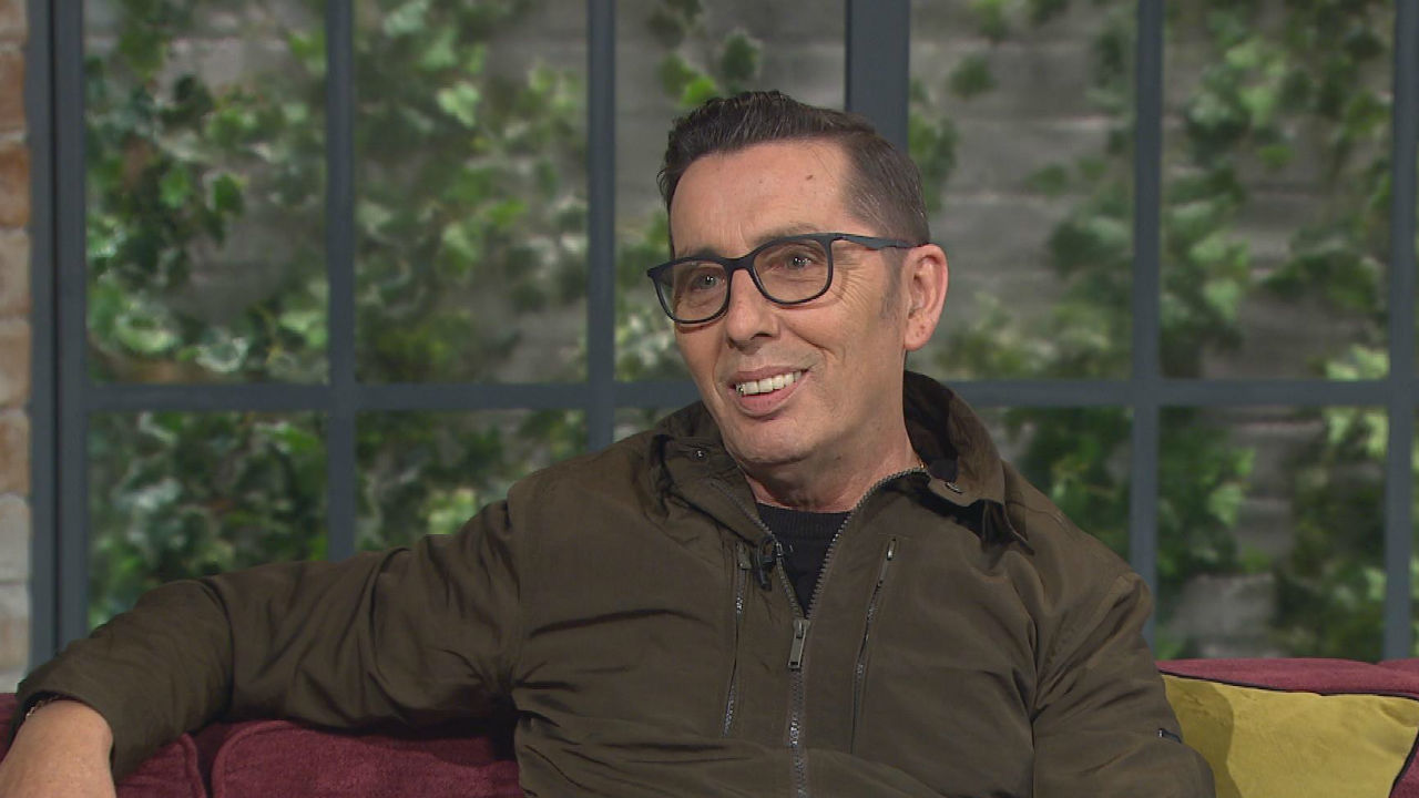 Iconic Irish star Christy Dignam talks openly about his struggles in life