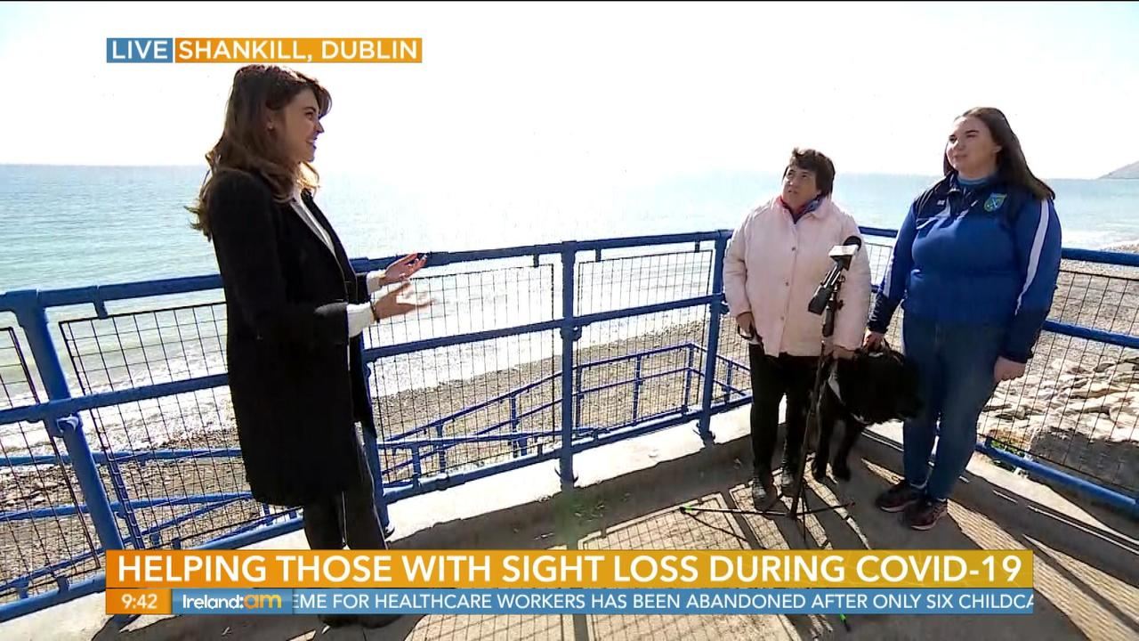 Social Distancing with Sight Loss