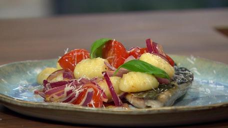 Mackerel and Fresh Tomato Gnocchi
