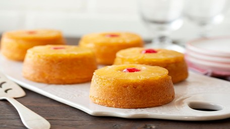 Upside Down Pineapple Cakes