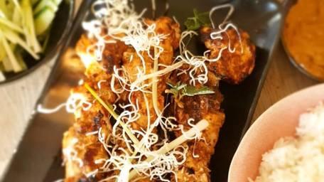 BBQ Chicken Satay