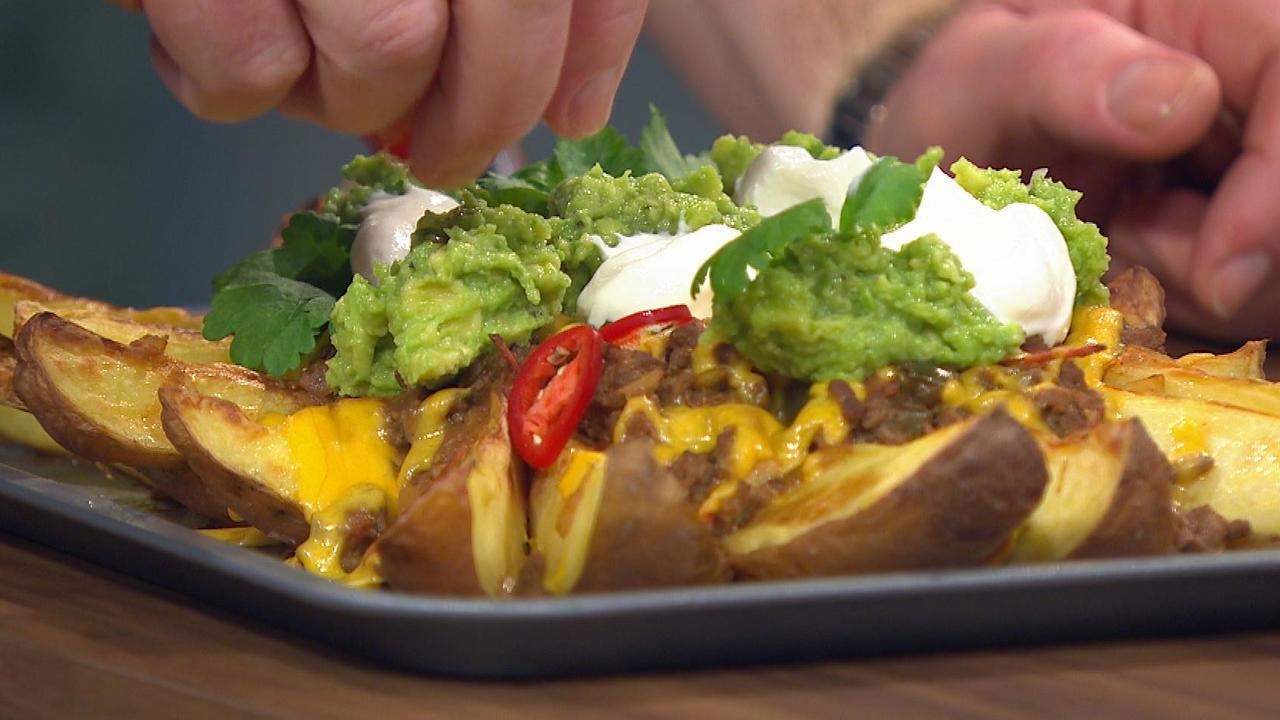 Mexican Chili Potato Wedges