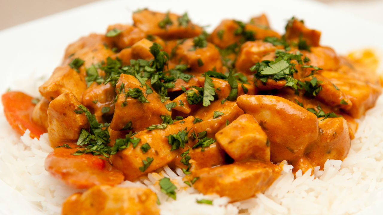 Chicken and Pumpkin Korma