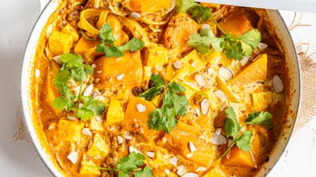Pumpkin, Coconut & Paneer Curry