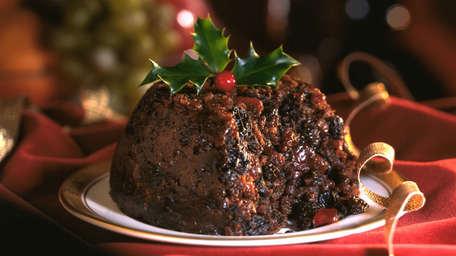Catherine's Christmas pudding