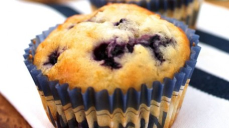 Apple & Blueberry Muffins
