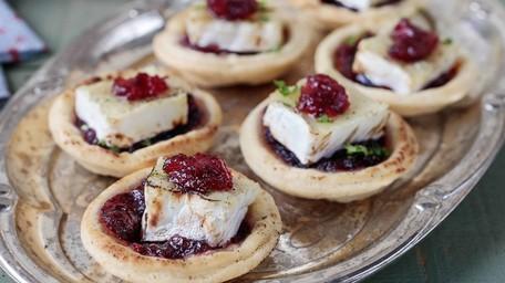 Cranberry & Brie Tarts