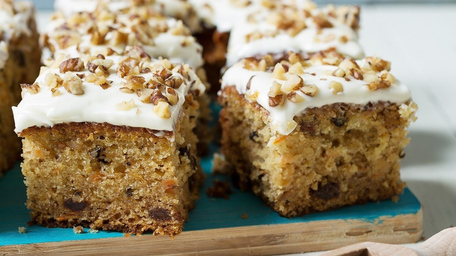 Wholemeal Carrot Squares