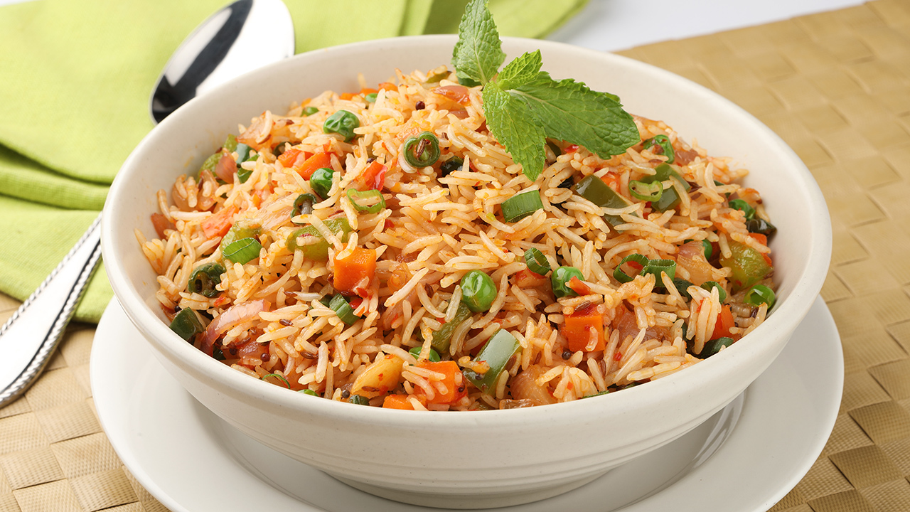 Vegetable Indian Fried Rice