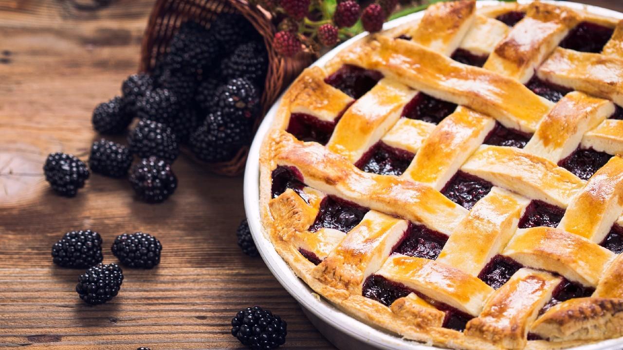 Rustic Blackberry Pie