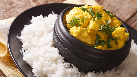 Saffron and Cardamom Flavoured Easy Chicken Korma