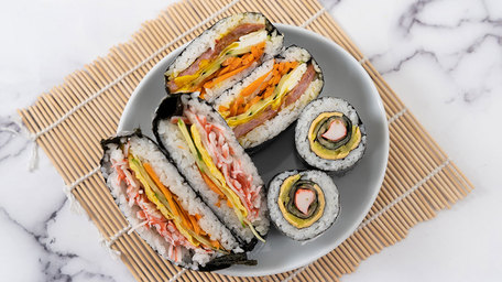 Folded Sushi Wrap