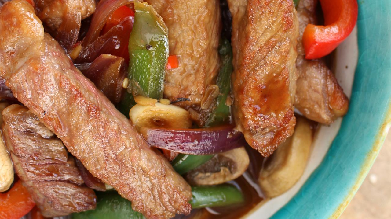 Spiced Beef Kebab