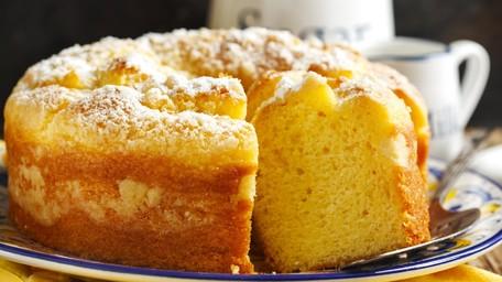 Catherine's Lemon Crumble Cake