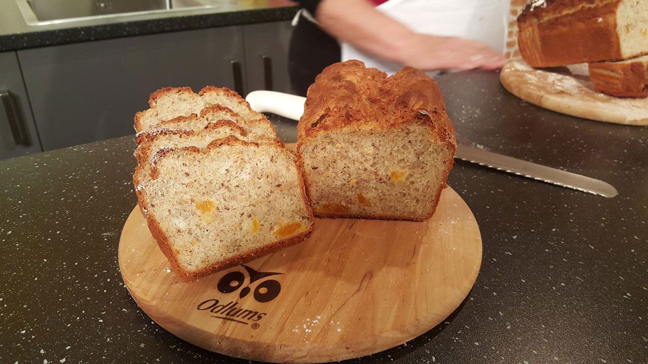 Gluten Free Apricot & Seed Bread