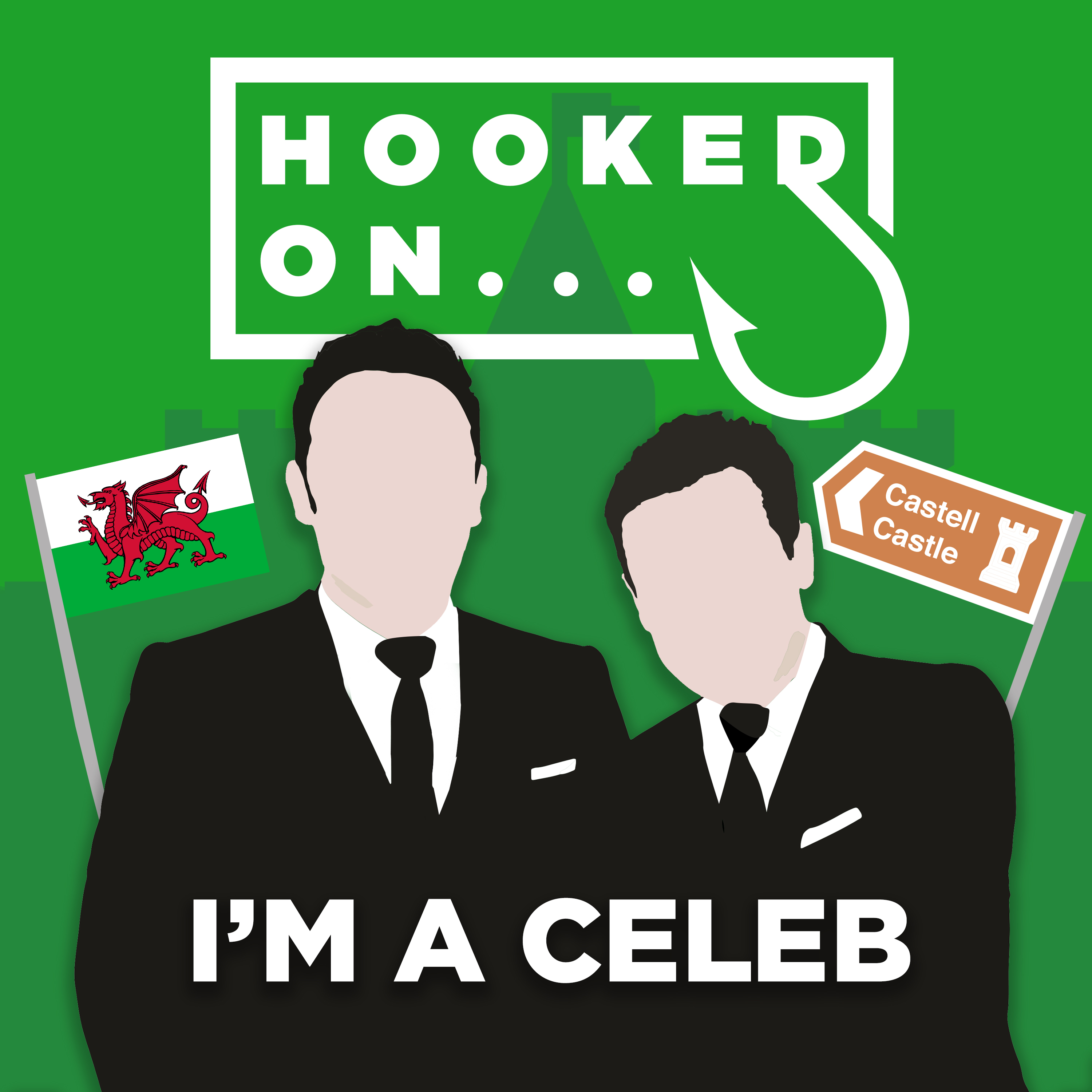 Hooked On Im A Celeb Podcast Cover